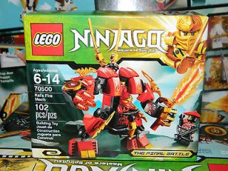 2013 Lego Ninjago Chima Kai Fire Mech Razcal Set 70500 70000 Ninja