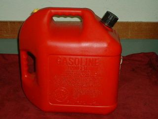 VINTAGE BLITZ 5 GALLON GAS CAN FLEXIBLE SPOUT WITH VENT