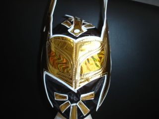 SIN CARA EVIL CHILD & ADULT REPLICA LYCRA MASK FANCY DRESS UP COSTUME
