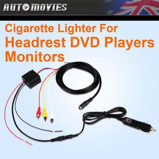A0306 Cigarette Lighter for Car Headrest DVD Player