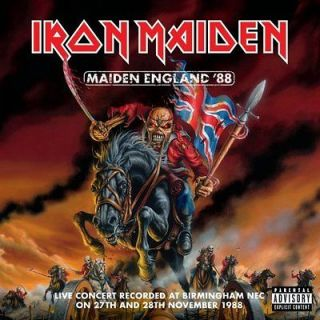 Maiden England by Iron Maiden CD (2013) Brand New Ships Worldwide