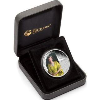 2012 1$ H.M. QUEEN ELIZABETH II   DIAMOND JUBILEE Silver Coin