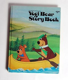 Yogi Bear Story Book Horace J Elias 1974 HB Very Nice Hanna Barbera