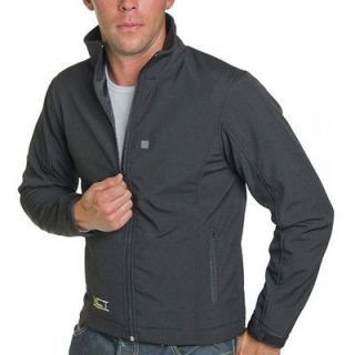 New Venture Mens Battery Powered Heated City Jacket   Size Large