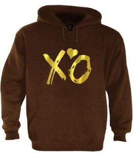 Weeknd Hoodie lil wayne cool OVOXO Octobers VERY OWN DRAKE YMCMB Gold