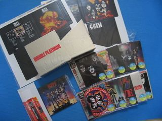 KISS 10 Mini LP CDs w/Double Platinum BOX Complete w/Cover,OBI Set
