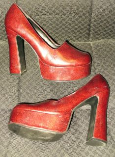 SIZE 10 WOMENS EXTREME 5.25 RUBY SLIPPERS, DOROTHY, OZ, PUMPS SHOES