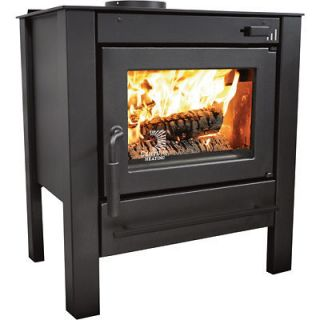 HEATER / STOVE Wood Burning   40,000 BTU   1,000 Sq Ft   UL Listed