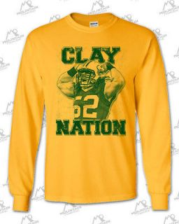 LONG T GOLD Clay Matthews CLAY NATION Green Bay Packers Linebacker