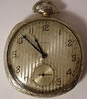 AESTHETIC VICTORIAN LADIES ELGIN GOLD POCKET WATCH BIRD