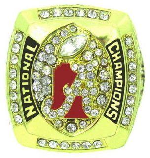 2011 Alabama Crimson Tide National Championship Ring US 11.5