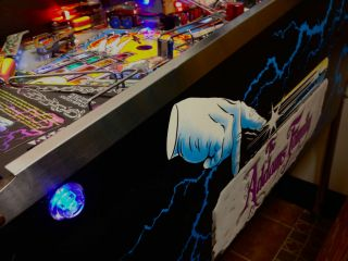 The Addams Family Pinball LED Flipper Button Kit