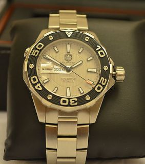 NEW TAG HEUER MENS AQUARACER CALIBRE 5 500M AUTOMATIC MENS WATCH NEW