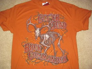 New Buck Commander Duck Dynasty shirt GitEr Dead size L mens