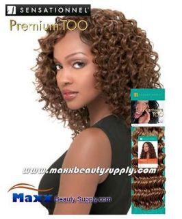 Sensationnel Premium Too Human Hair Weave   Deep Weave 12, 14