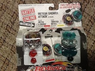 NEW BEYBLADE METAL FURY METEO L DRAGO/ TWISTED BEFALL