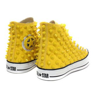 Original Converse All Star Spike Stud All yellow color Converse