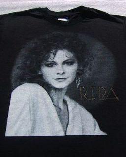 REBA McENTIRE 1990 91 tour LARGE concert T SHIRT vintage vtg Rumour
