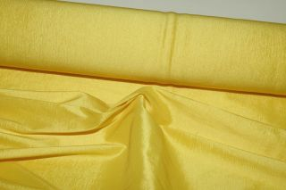 STRETCH TAFFETA FABRIC DAISY YELLOW 58 WIDE BTY WESTERN WEAR DRESSES