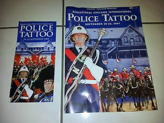 Newly listed 2001 ADELAIDE INTERNATIONAL POLICE TATTOO PIN, BADGES