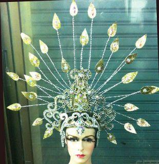 EVITA H053 Arrow Vegas Cabaret Burlesque Showgirl Drag Queen Headdress