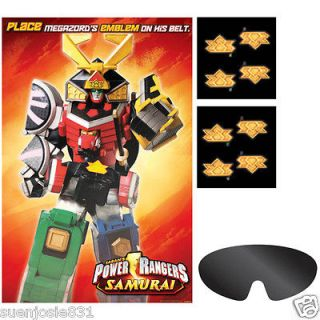 Power Rangers Samurai Party Game Party Supplies