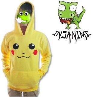 Pokemon Pikachu Hoodie Jacket Medium