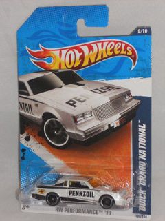 Hot Wheels 2011 HW Performance Series 9/10   Buick Grand National