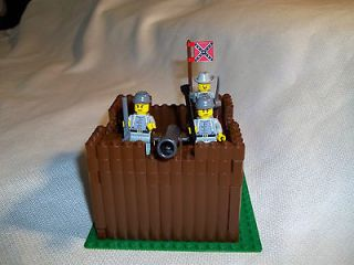 LEGO CIVIL WAR CUSTOM CONFEDERATE OUTPOST CAVALRY SET