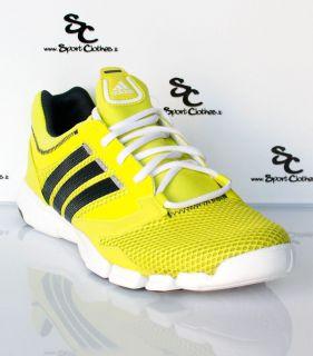 adidas adipure Trainer 360 mens training running shoes yellow white