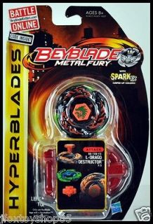 BEYBLADE Metal Fury HYPERBLADES L DRAGO DESTRUCTOR  Attack BB108 FX
