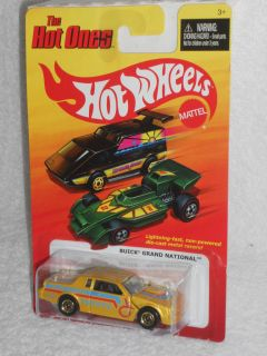 Hot Wheels 2011 The Hot Ones Series   Buick Grand National   Pearl