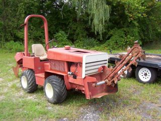 2005 Ditch Witch RT40 Center Cut Trencher Construction Heavy Equipment