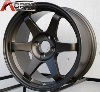 T1 16X8 4X100 +25 BRONZE RIM WHEEL FIT CIVIC MIATA INTEGRA FIT BMW VW