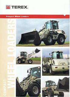 Terex Compact Wheel Loaders range Construction brochure 2007