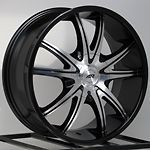 20 Inch Black Rims Wheels Chevy Silverado Tahoe Truck Avalanche GMC