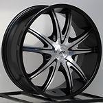 20 Inch Black Rims Wheels Chevy Silverado Tahoe Truck Avalanche GMC