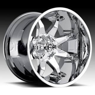 FUEL SUV Truck Wheel Rim Octane Chrome 20 in 6 Lug Deep