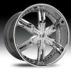 22 Lexani LX 12 Wheel SET LX12 Chrome RIMS 5 LUG VEHICLES MERCEDES BMW