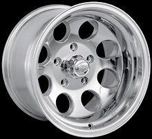 CPP ION Alloys style 171 Wheels Rims 16x10, 6x5.5 Polished Aluminum
