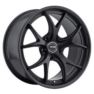 19 MRR GT8 MATTE BLACK Wheels Rims Fit BMW 3 SERIES 323 325 328 330