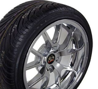 18 9/10 Chrome FR500 Style Wheels Nexen Tires Rims Fit Mustang® 94
