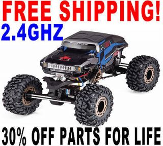 Truck 4WD Buggy RS10 XT Rock Crawler 4 Wheel Steering RTR RedCat USA