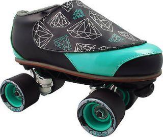 Diamond Walker Teal and Black Sunlite Speed Jam Roller Skates Size 11