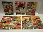 LOT OF (7) 1950S 60S CUSTOM CARS HOT RAT ROD GASSER AUTOMOTIVE CAR