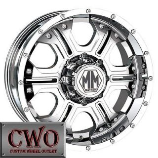 20 Chrome Mayhem Havoc Wheels Rims 5x150 5 Lug Toyota Tundra Sequoia