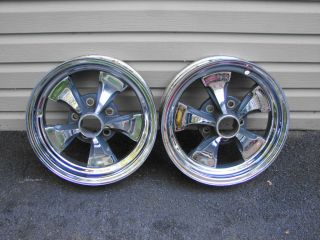KEYSTONE CLASSIC 15X4 5 BOLT 4 3/4 BC WHEELS GM STREET ROD GASSER