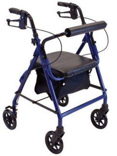 Roscoe Medical Z600J Junior Rollator Petite Narrow Rolling Walker