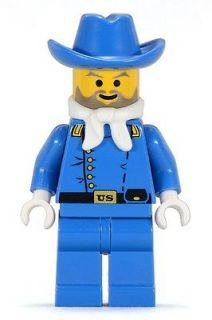 LEGO Western CAVALRY LIEUTENANT Civil War Minifig Minifigure 6762 6769
