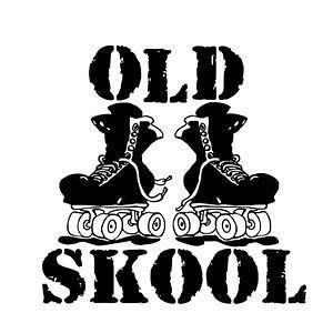 OLD SCHOOL ROLLER SKATES Skate SK8 Quad Inline T SHIRT